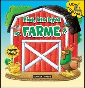 Vieš, kto býva na farme? cena od 98 Kč