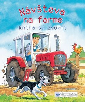 Návšteva na farme - kniha so zvukmi cena od 229 Kč