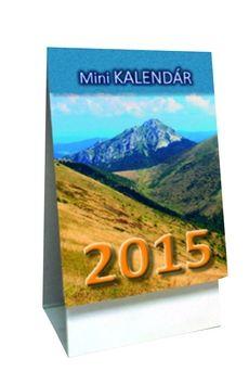 Mini kalendár 2015 - stolový kalendár cena od 29 Kč