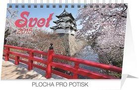 Svet - stolní kalendář 2015 cena od 63 Kč