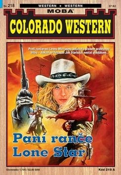 John Kirby: Paní z ranče Lone Star cena od 30 Kč
