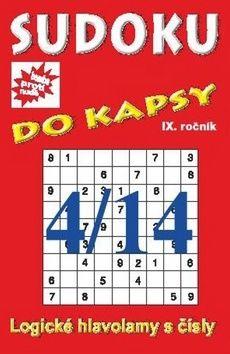 Sudoku do kapsy 4/14 cena od 37 Kč