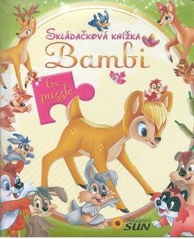 Marcela Grez, Javier Inajara: Bambi - Skládačková knížka cena od 106 Kč
