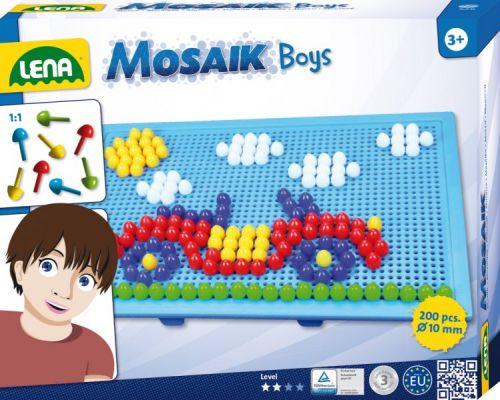 LENA Mozaika velká pro kluky cena od 125 Kč