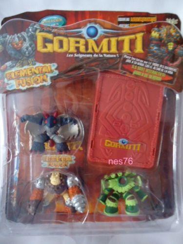 GIOCHI PREZIOSI Gormiti Elemental Fusion 3 figurky cena od 199 Kč