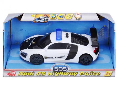 Dickie Policejní auto 1:24 Audi R8 cena od 0 Kč