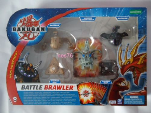 SPIN MASTER Sestava bojovníka Bakugan Battle Brawler cena od 519 Kč