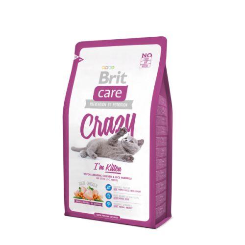 Brit Care Cat Crazy I´m Kitten 7 kg