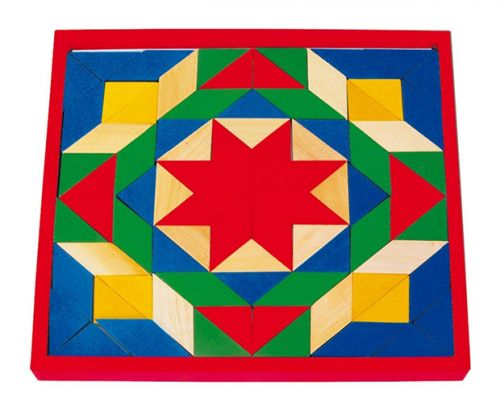 RaKonrad Dřevěná mozaika