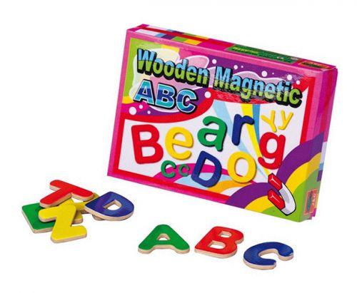 RaKonrad Dřevěná magnetická písmena cena od 229 Kč