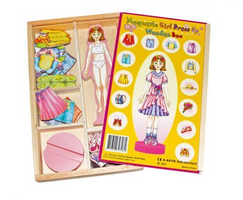 RaKonrad Převlékací magnetická panenka Magda cena od 0 Kč