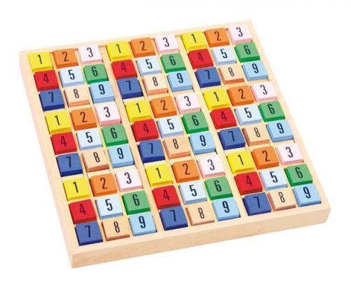 RaKonrad Dřevěné sudoku cena od 0 Kč