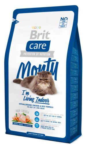 Brit Care Cat Monty I´m Living Indoor 7 kg