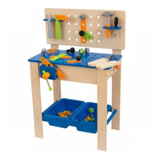 KidKraft Opravářský stůl s nářadím DELUXE