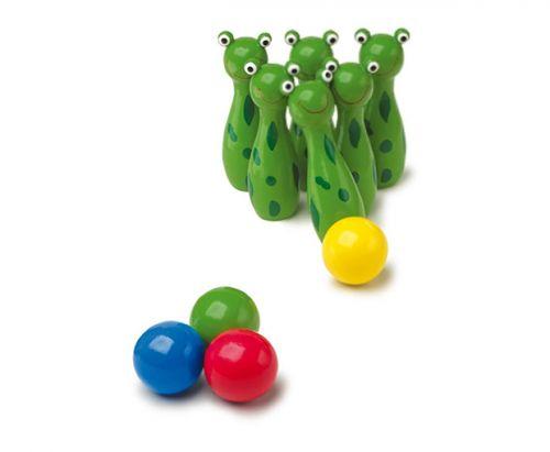 RaKonrad Kuželky žabky