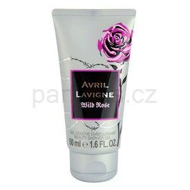 Avril Lavigne Wild Rose sprchový gel tester pro ženy 50 ml