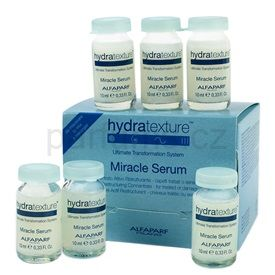 Alfaparf Milano Hydratexture obnovující sérum na vlasy (Miracle Serum Active Restructuring Concentrate) 6 x 10 ml