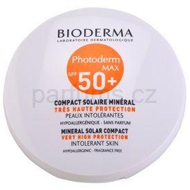 Bioderma Photoderm Max make-up pro intolerantní pleť odstín Golden Colour SPF 50+ (Mineral Solar Compact Intolerant Skin) 10 g