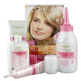 L'Oréal Paris Excellence Creme barva na vlasy odstín 8,1 Ash Blonde