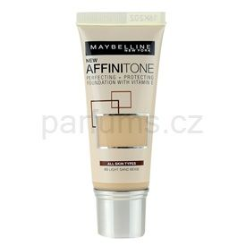 Maybelline Affinitone hydratační make-up odstín 03 Light Sand Beige 30 ml