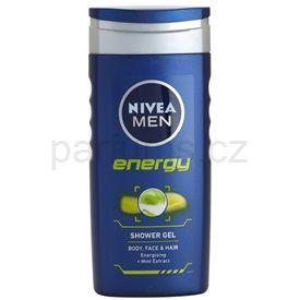 Nivea Energy sprchový gel na tvář, tělo a vlasy (Shower Gel) 250 ml