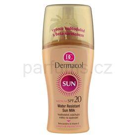 Dermacol Sun Water Resistant voděodolné mléko na opalování SPF 20 (Water Resistant Sun Spray Milk) 200 ml