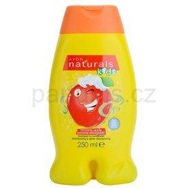Avon Naturals Kids šampon a kondicionér 2v1 pro děti (Amazing Apple Shampoo and Conditioner) 250 ml