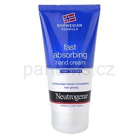 Neutrogena Hand Care rychle se vstřebávající krém na ruce (Fast Absorbing Hand Cream - Light Texture) 75 ml