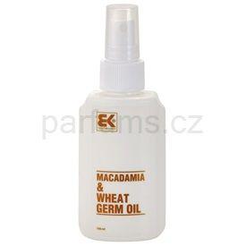 Brazil Keratin Macadamia & Wheat Germ Oil olej na vlasy i tělo (Regenerating Oil for Hair and Body) 100 ml