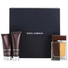 Dolce & Gabbana The One for Men dárková sada VI. toaletní voda 100 ml + sprchový gel 50 ml + balzám po holení 75 ml