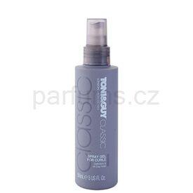 TONI&GUY Classic gel ve spreji pro vlnité vlasy (Spray Gel for Curls) 150 ml