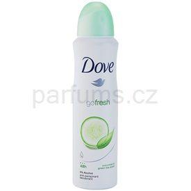 Dove Go Fresh Fresh Touch deodorant antiperspirant ve spreji okurek a zelený čaj 48h (Anti-perspirant Deodorant) 150 ml cena od 55 Kč