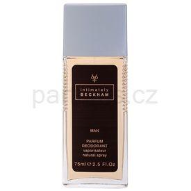 David Beckham Intimately Men deodorant s rozprašovačem pro muže 75 ml