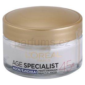 L'Oréal Paris Age Specialist 45+ noční krém proti vráskám (Firming Care) 50 ml