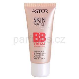 Astor SkinMatch Care hydratační BB krém 5v1 odstín 100 Ivory SPF 25 (BB Cream Beauty Balm) 30 ml