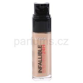 L'Oréal Paris Infallible dlouhotrvající tekutý make-up odstín 300 Amber (Stay Fresh Foundation 24H) 30 ml