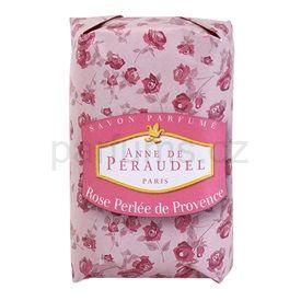 Anne de Péraudel Flower tuhé mýdlo Rose Perlée de Provence (Soap) 100 g