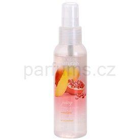 Avon Naturals Fragrance tělový sprej s granátovým jablkem a mangem (Pomegranate and Mango Scented Spritz) 100 ml