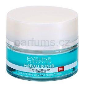 Eveline Cosmetics BioHyaluron 4D denní a noční krém 40+ SPF 8 (Concentrated Day and Nighr Cream) 50 ml