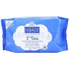 Uriage 1érs Soins Bébés extra jemné vlhčené čisticí ubrousky (Extra-Gentle Cleansing Wipes) 25 pcs