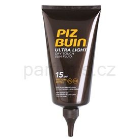 Piz Buin Ultra Light tělový fluid SPF 15 Medium (Dry Touch Fluid) 150 ml