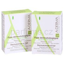 A-Derma Original Care mýdlo pro citlivou pokožku DUO BALENÍ (Dermatological Bar) 2 x100 g