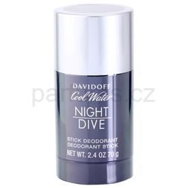 Davidoff Cool Water Night Dive deostick pro muže 70 gr cena od 356 Kč