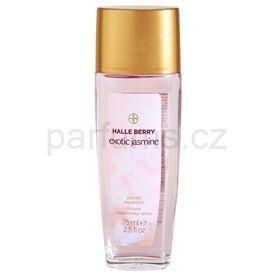 Halle Berry Exotic Jasmine deodorant s rozprašovačem pro ženy 75 ml