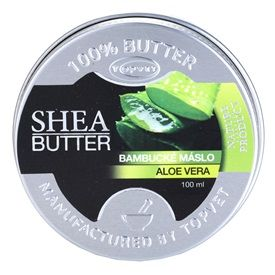 Topvet Shea Butter bambucké máslo aloe vera (Shea Butter) 100 ml