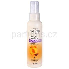 Avon Naturals Hair Care vlasový sprej pro snadné rozčesání vlasů meruňka a bambucké máslo (Detangling Spray) 150 ml