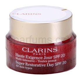 Clarins Multi - Intensive denní liftingový vypínací krém SPF 20 SPF 20 (Super Restorative Illuminating Lifting Replenishing Day Cream) 50 ml