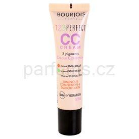 Bourjois 123 Perfect CC krém pro bleskově bezchybný vzhled odstín beige Rose 33 SPF 15 (3 Pigments Colour Correction ) 30 ml