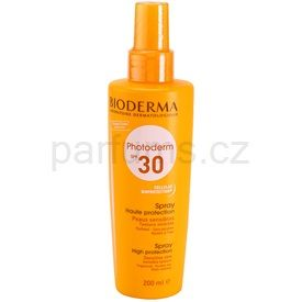 Bioderma Photoderm sprej na opalování SPF 30 (Sun Spray Sensitive Skin) 200 ml