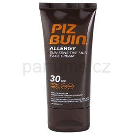 Piz Buin Allergy opalovací krém na obličej pro citlivou pokožku SPF 30 (Sun Sensitive Skin Face Cream) 50 ml